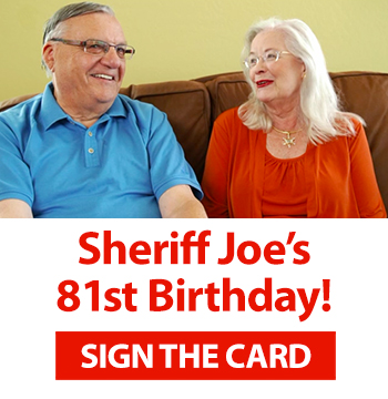 Happy Birthday Sheriff Joe