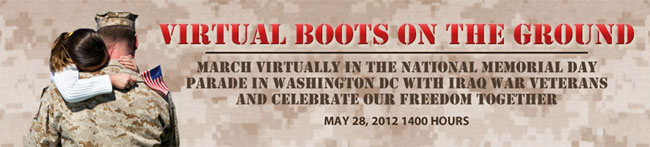 Virtual Boots on the Ground